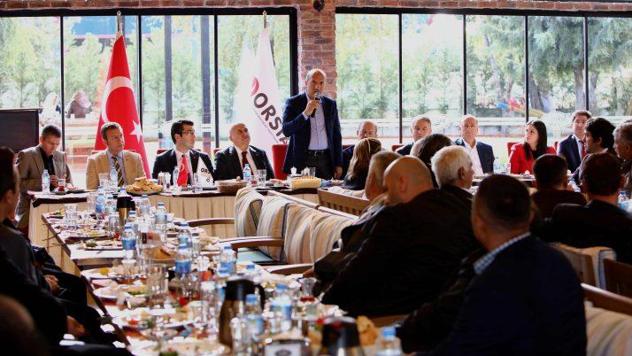 Ali İhsan Arslan'dan OSTİM ve Polatlı ziyareti