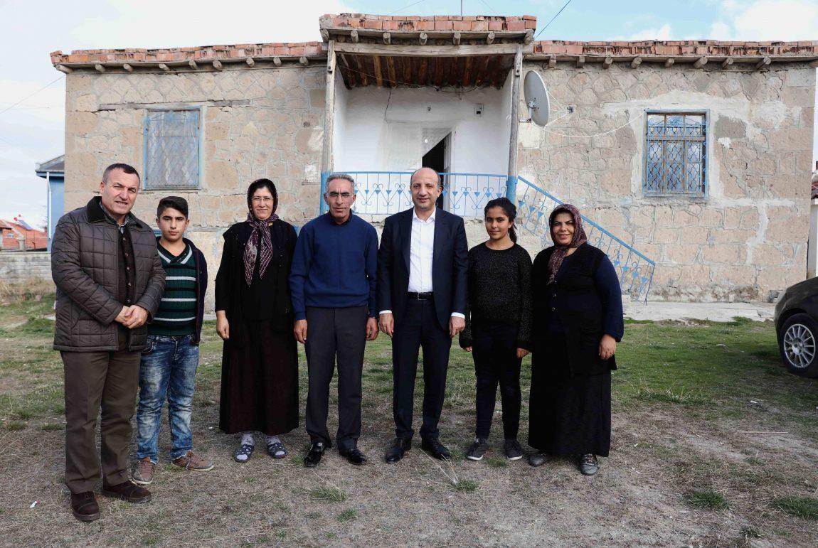 Arslan Haymana ve Mamak'ı ziyaret etti