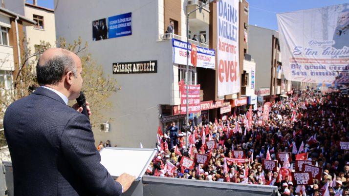 """Mücahit Arslan: """"Milli Demokrasiye ve Güçlü Cumhuriyete Evet"""""""