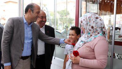Ali İhsan Arslan Akyurt'ta vatandaşlarla buluştu