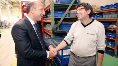 Sincan OSB'de fabrikaları ziyaret ettik, işçilerle bir araya geldik