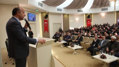 """Mücahit Arslan Kazanlılara konuştu: """"İdeolojik yaklaşımları bir kenara bırakalım"""""""