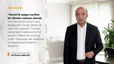"""""""Türkiye olarak bu süreçte daha güçlü bir üretim üssü haline dönüşebiliriz"""""""