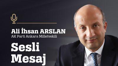 """""""Çocuklarımızın okulda şen şakrak eğitim gördüğü, büyüklerimizin parklarda güneşlendiği, esnafımızın huzurla kepenk açtığı bir Ankara'ya, Türkiye'ye en kısa zamanda kavuşacağımıza inanıyorum."""""""